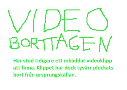 Video borttagen
