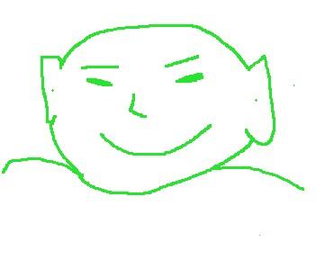 Glad kinesisk munk