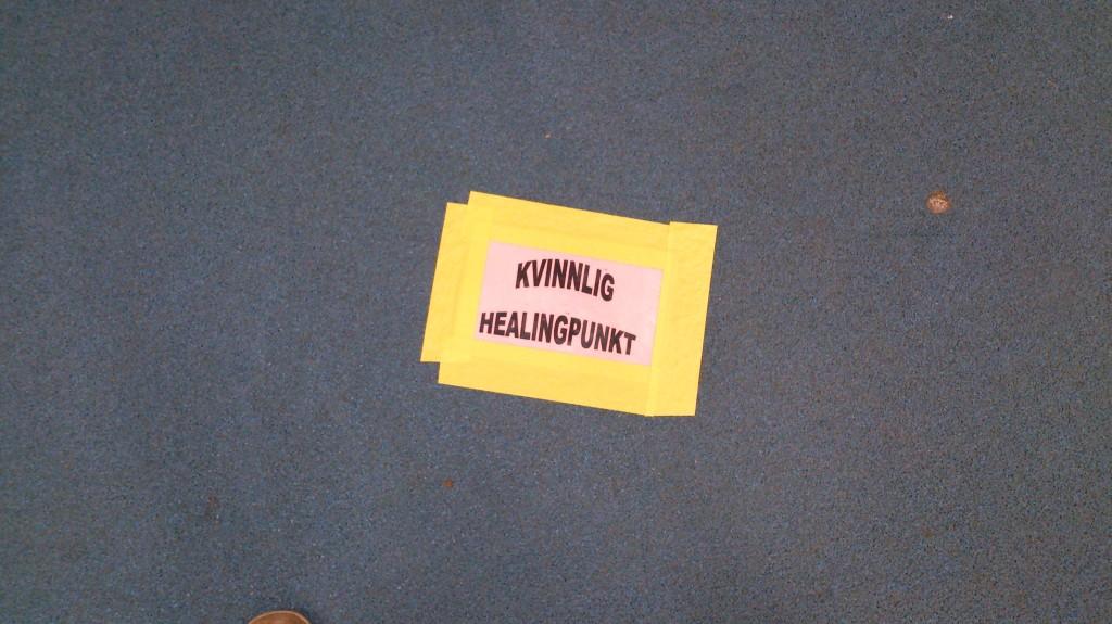 Kvinnlig healingpunkt