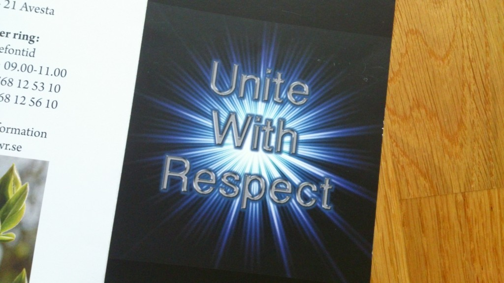 Unite with Respect