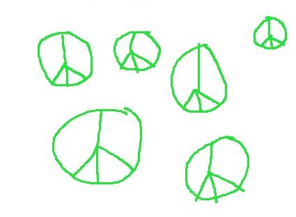 Femtio nyanser av fredsrörelsen