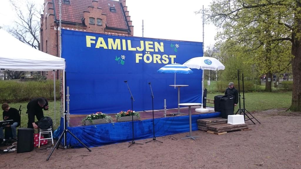Familjen först i Odinslund