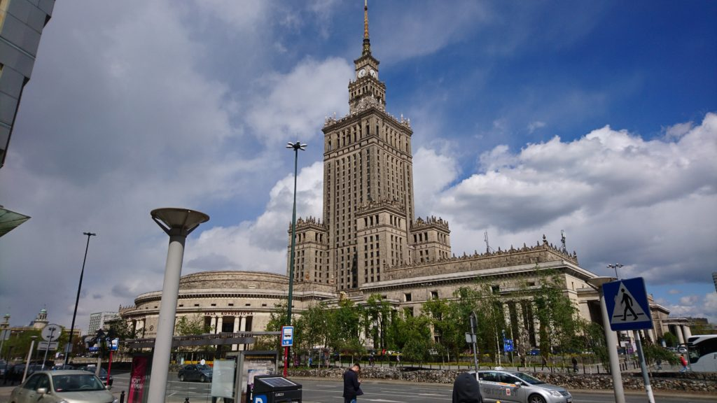 Sovjetunionens gåva till Polen