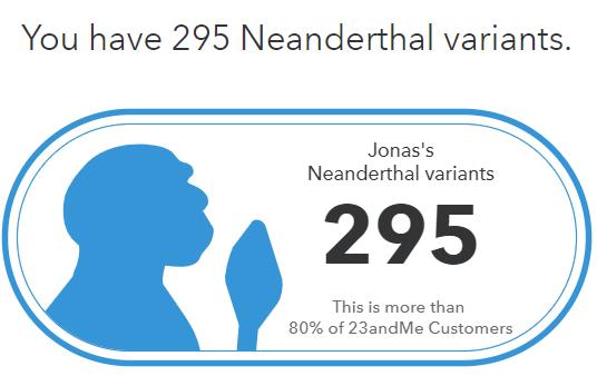Neandertalvarianter för Jonas Karlsson